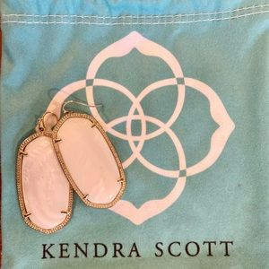 Kendra Scott White Drop Earrings!